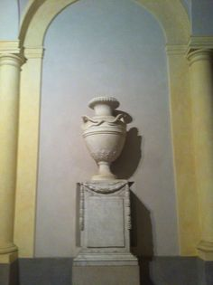Vase at Reggia di Colorno, close to Parma
