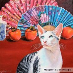 The Handsome Mr Darc The Handsome Mr Darcy Last Year Society Of Feline Artists Member Margaret Slape Phillips Was Russian Blue Cat Tabby Cat Tabby Cat Pictures