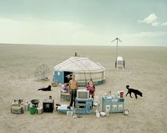 Chinese photographerHuang Qingjunhas spent nearly 10 years travelling to remote areas in China to convince people to have their picture taken along with all of their possessions. At first glance it's striking how little they own but as you look closer at each image you'll discover items that might be unexpected.