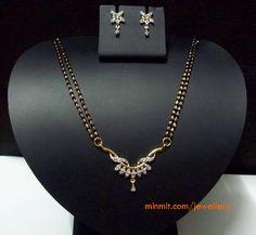 gold-beads-mangalsutra-diamond-pendant