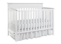 "Graco Lauren Convertible Crib - White - Storkcraft - Babies ""R"" Us Baby Boys, Toddler Bed Mattress, Best Crib, Nursery Inspiration, Nursery Ideas, Girl Nursery, Jungle Nursery, White Nursery, Bebe"