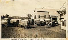 Cotton History -- cotton being delived to a cotton gin in Oklahoma photo between 1915 & 1925, so it's your time frame.  Article said that cotton was the most important cash crop in OK in 1922.  This photo is in Ripley -- not sure it exists today, I couldn't find it in my atlas --
