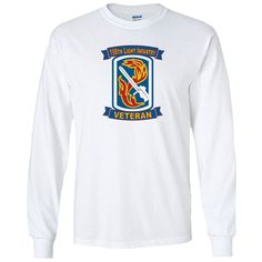 Show your 198th Light Infantry Brigade Veteran pride with this White Performance Long Sleeve Shirt. This performance shirt features 100% Polyester antimicrobial, moisture wicking fabric that will keep you cool, dry, and comfortable. THIS IS A PERFORMANCE FABRIC SHIRT, NOT COTTON. Designed, Printed & Sublimated in the USA -Fabric Imported.