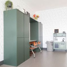 10 ways to hack the Ikea Ivar cabinet into something special for the kids room Ikea Girls Room, Modern Girls Rooms, Kids Rooms, Ikea Ivar Cabinet, Ikea Eket, Regal Design, Design Design, Ikea Hacks, Ivar Ikea Hack