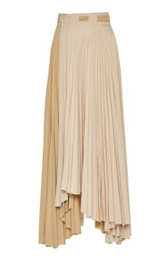 Pleated Tonal Maxi Skirt by A. for Preorder on Moda Operandi Culottes, British Indian, Pleated Skirt, Fashion Dresses, Ballet Skirt, Fashion Sewing, Women's Fashion, Casual, How To Wear