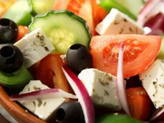 Griechischer Bauernsalat - Choriatiki - Rezept | DasKochrezept.de