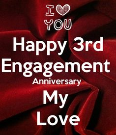 happy engagement anniversary my poster kanika