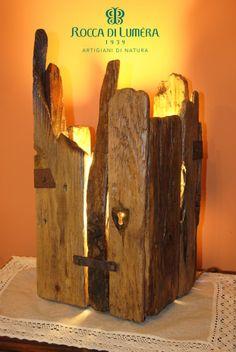 """Mmucciata - in siciliano il nome significa """"nascosta"""" ed è stato scelto per la particolare forma a fortino che copre i 4 lati nascondendo totalmente la fonte di luce"""