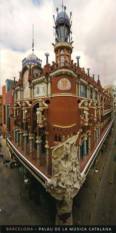 MY UNESCO WHS POSTCARDS COLLECTION: SPAIN - Palau de la Música Catalana and Hospital de Sant Pau, Barcelona