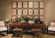 greige: interior design ideas and inspiration for the transitional home by christina fluegge: The art of arranging art...