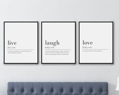 Check out our live laugh love art selection for the very best in unique or custom, handmade pieces from our prints shops. Karma Definition, Funny Karma Quotes, Funny Bathroom Art, Bathroom Ideas, Blue And Green, Live Laugh Love, Typography Prints, Wall Art Sets, Definitions