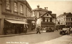 A very different town centre than we are used to today. This picture was taken during 1930's.