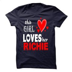 This Girl Love Her RICHIE - #christmas gift #shirt for women
