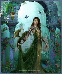Nene Thomas Dragons | Tube femme et dragon de Nene Thomas