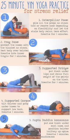 Yin yoga - restful yoga - just as important as flow yoga!