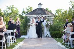 Purple, green, white and silver wedding at Carmel Mountain Ranch Country Club in San Diego, California. #couple #brideandgroom #ceremony #CarmelMountainRanchCountryClub #clubcmr