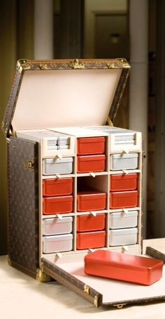 Limited edition Louis Vuitton Red Cross Kit in celebration of the Red Cross' 150th anniversary (2009)