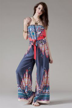 Boho Jumpsuit #swoonboutique