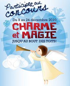 Concours Charme et Magie Jusqu'au Bout des Toits, Quartier Petit Champlain