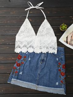 SHARE & Get it FREE | Lace Scalloped Crop TopFor Fashion Lovers only:80,000+ Items • New Arrivals Daily • FREE SHIPPING Affordable Casual to Chic for Every Occasion Join Zaful: Get YOUR $50 NOW!