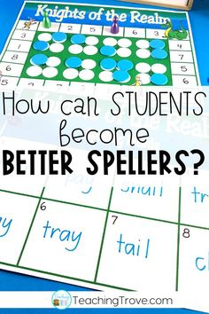 Your first, second grade and third grade students need spelling strategies to help them become better at spelling. Spelling games and activities are a fun way to help practice spelling strategies and motivate your elementary students to learn their spelling words and can be used with any spelling word list. #spellinggames #spellingactivities 4th Grade Spelling, Spelling Word Activities, Spelling Word Practice, Spelling Words List, Spelling For Kids, Spelling Ideas, Literacy Activities, Fourth Grade, Math Fact Fluency