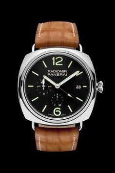 Buy Panerai Radiomir 10 Days GMT Watches, authentic at discount prices. Complete selection of Luxury Brands. All current Panerai styles available. Panerai Radiomir, Panerai Watches, Men's Watches, Panerai Replica, Cool Watches, Watches For Men, Beautiful Watches, Watch Sale, Stainless Steel Watch
