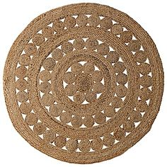 Round Jute Rug by Serena & Lily