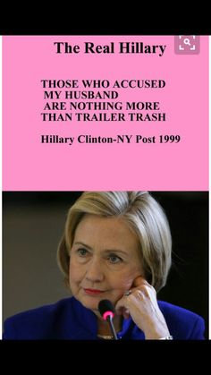 THIS PIG WOULD KNOW ALL ABOUT THAT BECAUSE SHE AND HER IGNORANT RAPIST HUSBAND ARE NOTHING BUT TRASH!!!