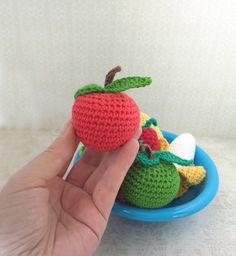 Pack frutas de juguete