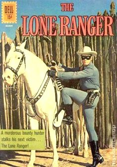 Lone Ranger 144 the Strict VF/NM High-Grade Tonto Silver up for grabs Old Comics, Vintage Comics, Comic Book Characters, Comic Books, Old Western Towns, Nostalgia, Western Comics, The Lone Ranger, Tv Westerns