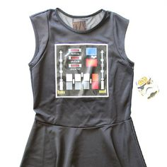 Women's We Love Fine x Star Wars Darth Vader dress ⭐️ Star Wars fashion ⭐️ Geek Fashion ⭐️ Star Wars Style ⭐️ Geek Chic ⭐️