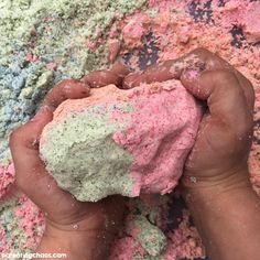 Edible Moon Sand DIY