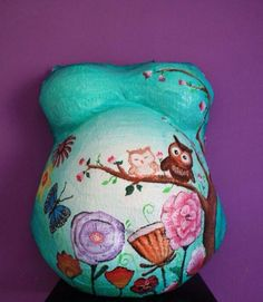 Owl Belly Paint