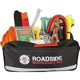 Always Prepared 65-Piece Roadside Assistance Auto Emergency Kit with Jumper Cables @ emergencykitsplus.com