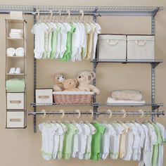 Nursery Closet Storage Set
