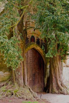 St Edward's Church. Stow on the Wold North Door by Jim Key, via Flickr