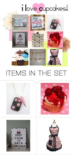"""""""cupcake awesomeness"""" by littlehomemadehousewife ❤ liked on Polyvore featuring art"""
