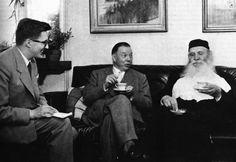 Sillanpaa kahvittelee, mukana Lassi Nummi – Wikipedia Lassi, Abraham Lincoln, Che Guevara