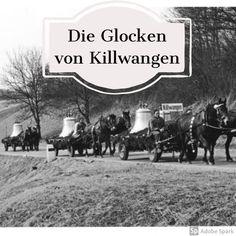 Am 18 März 1956 wurden die Kirchenglocken aus Aarau an Killwangen geliefert. In jedem Dorf, in dem der Pferdetransport-Tross mit den Glocken vorbeifuhr, läuteten zur Begrüssung die Kirchenglocken. Mein Vater war damals mit dem Velo dabei und informierte die Siegriste, dass der Umzug sich näherte und das Geläute eingeschaltet werden durfte. #glocken #kirchenglocken #killwangen Movies, Movie Posters, Historical Pictures, Moving Home, Remember This, Films, Film Poster, Cinema, Movie