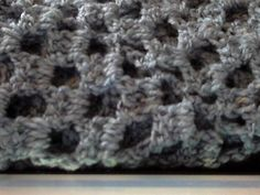 This baby afghan, 32-36 inches, is a two skein baby blanket with errors in it, but it is still a granny square up for sale on ebay. http://cgi.ebay.com/ws/eBayISAPI.dll?ViewItem=140860832383