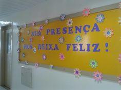 Pedagógiccos: Mural de volta às aulas