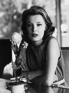 Gena Rowlands photographed by Leo Fuchs, 1962 DC