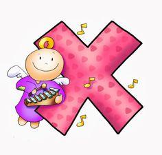 SGBlogosfera. Amigos de Jesús Letter C, 26 Letters, Rotulação Vintage, Printable Letters, Vintage Lettering, Alphabet And Numbers, 3rd Birthday, Cute Pictures, Fairy Tales