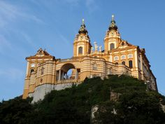 Melk Abbey in the province of Lower Austria Austria, near Vienna