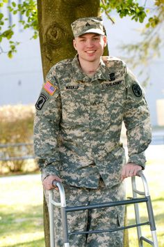 Wounded Warrior SGT Franz Walkup. A true American Hero