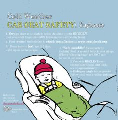 #fall is here, and #winter is on it's way. Keep your #baby safe in their #infant seat!!