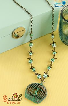 Sadie's Studio Fly Away Home Necklace #diyjewelry