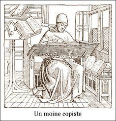 Un moine copiste