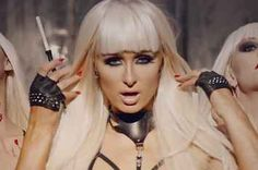Paris Hilton's Hairography Is Completely Flawless In Her New Music Video