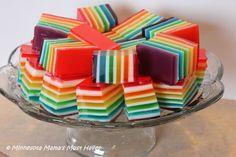 Rainbow Jello Recipe & Instructions - Minnesota Mama's Must Haves